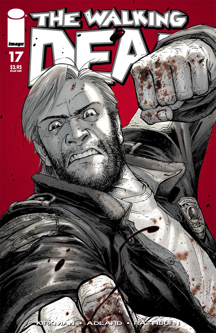 The Walking Dead Graphic Novel Rick Grimes Leather Jacket GkMvpvc9